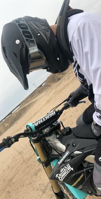 FLY Racing helmet with MIPS