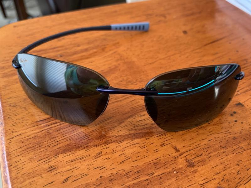 e1a1f51173d Kupuna Blue Glasses with Broken Left Ear Post