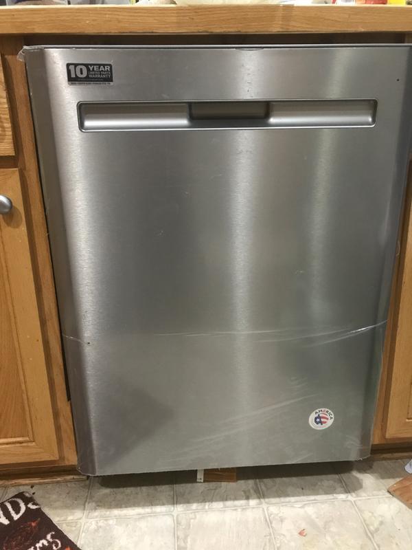 New Maytag Dishwasher