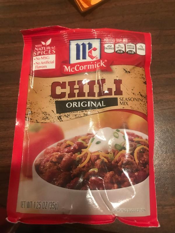 Dillons Food Stores Mccormick Original Chili Seasoning Mix 1 25 Oz