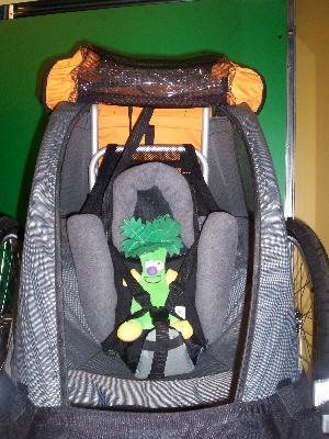 Mec Child Trailer Baby Supporter