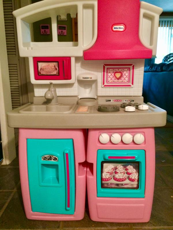 Little Tikes Pink Kitchen Set Online Shopping