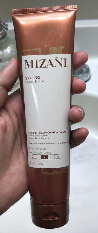 Lived-in Texture Creation Cream for Textured Hair | Mizani