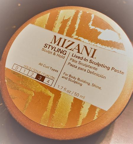 Lived-in Sculpting Paste for Textured Hair | Mizani