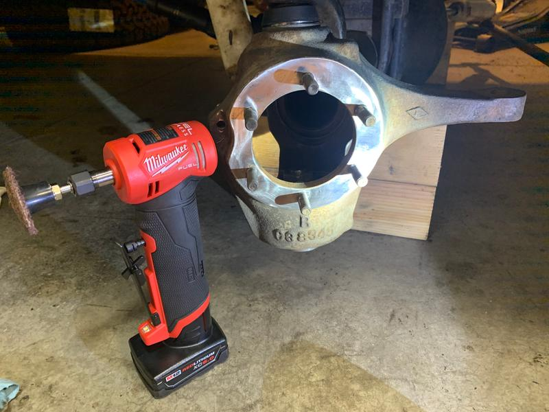 Ball joint replacement got to use my new tool.
