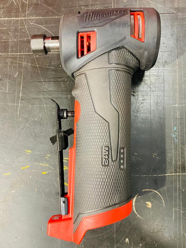 Right angle die grinder with protective boot