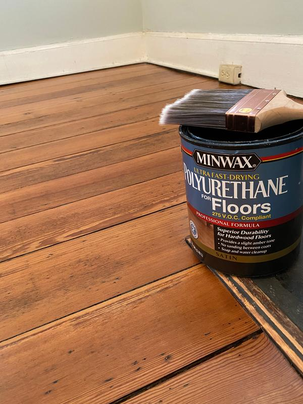 Minwax Ultra Fast Drying Polyurethane