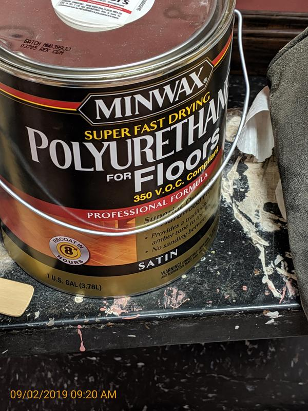 Minwax Fast Drying Polyurethane Clear Wood Finish Minwax