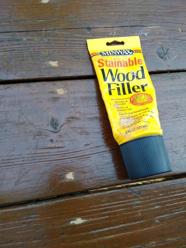 Minwax Stainable Wood Filler Repair Nail Holes More Minwax