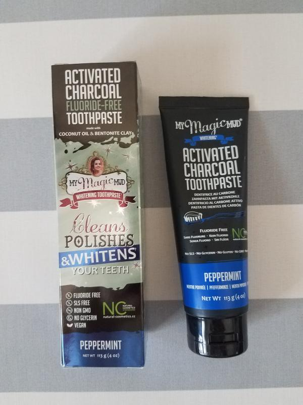My Magic Mud® Activated Charcoal Toothpaste for Whitening