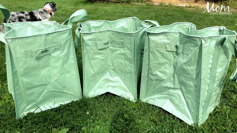 Martha Stewart Mts Mlb3 Mgn 3 Pk All Purpose Garden Bag Mint