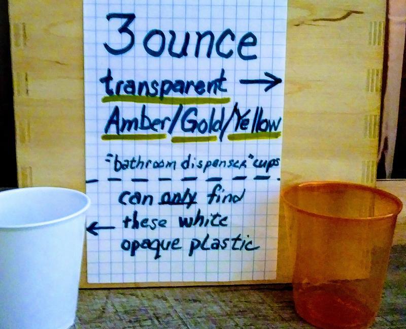 3 Oz Plastic Refill Cup Solo