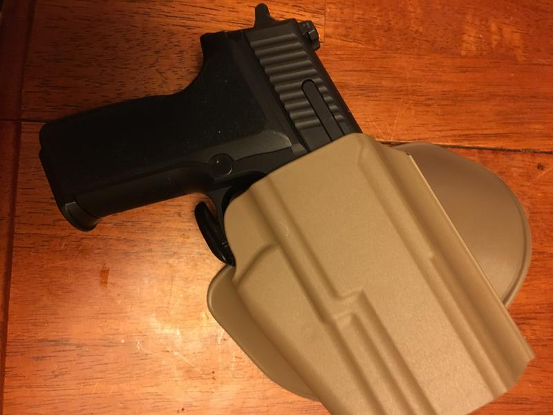 Model 578 GLS™ Pro-Fit™ Holster (with Paddle) - Standard Frame Firearms