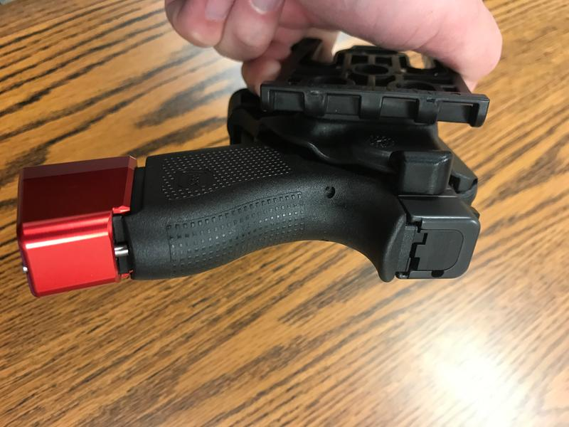 Model 7378 7TS™ ALS® Concealment Paddle and Belt Loop Combo Holster