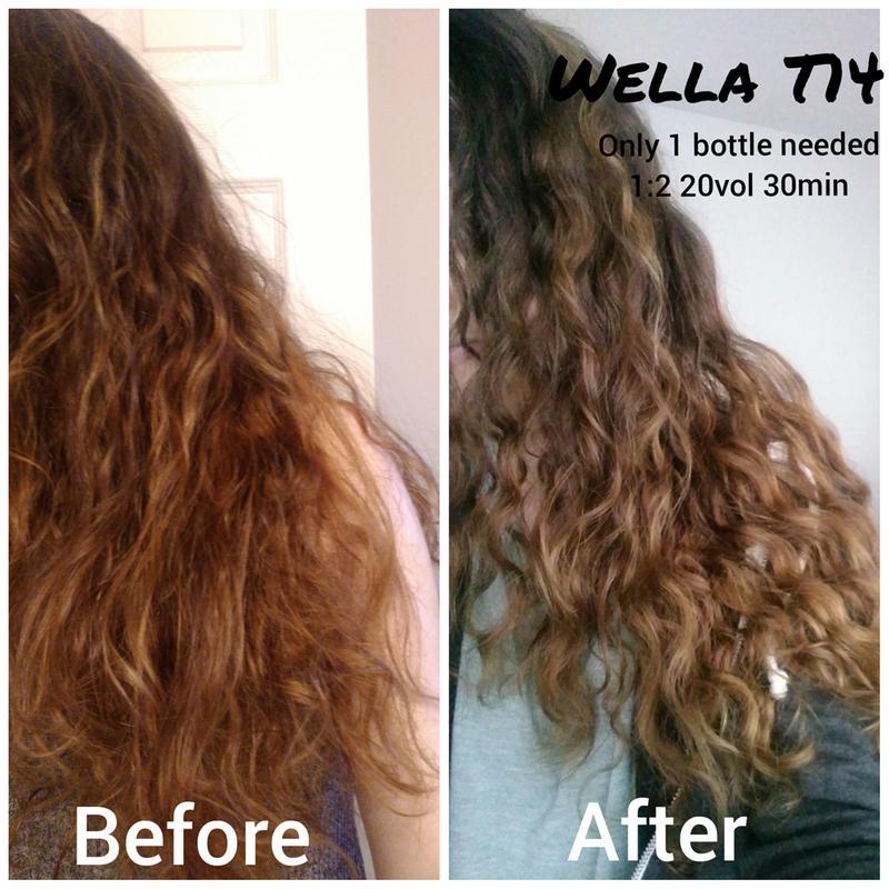 Color Charm Permanent Liquid Hair Toner
