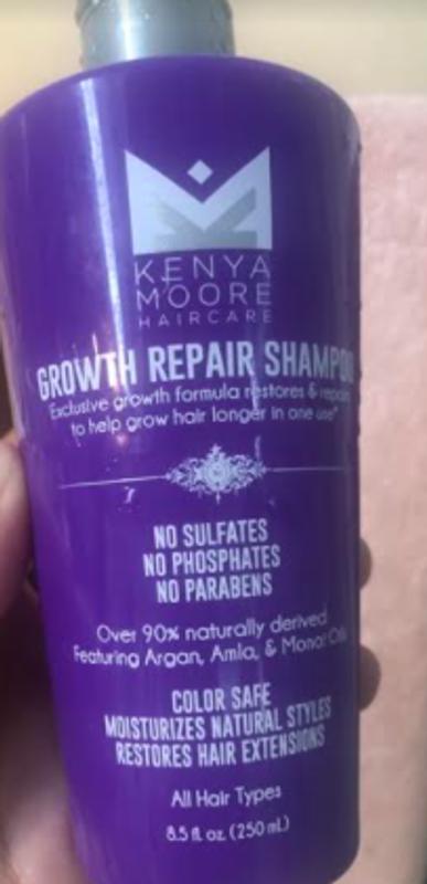 Kenya Moore Growth Repair Shampoo Textured Hair Sally Beauty