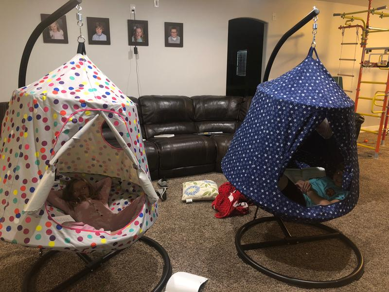 Wondrous The Hangout Pod Kids Hanging Tent Sams Club Uwap Interior Chair Design Uwaporg