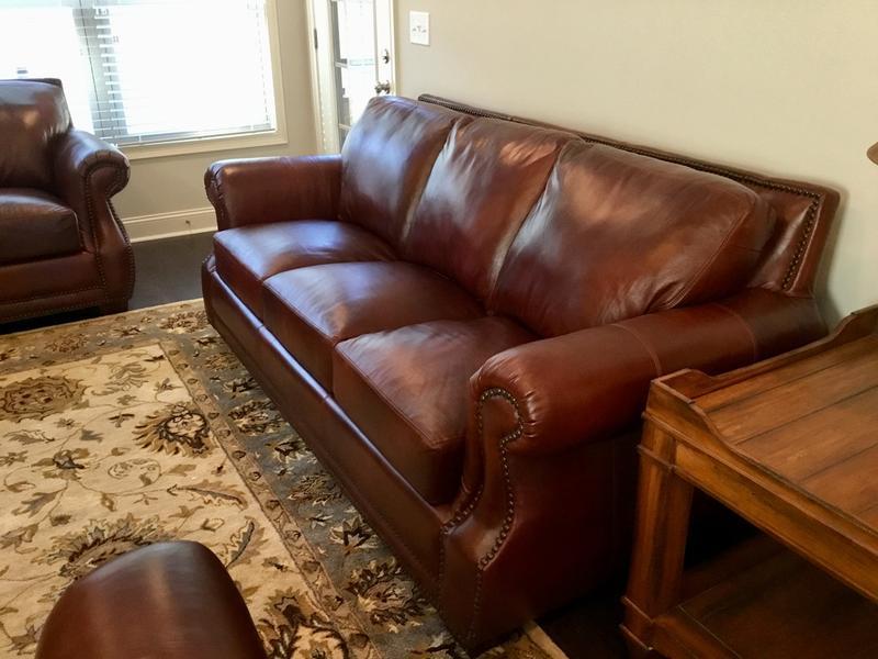 Brilliant Bristol Top Grain Vintage Leather Craftsman Living Room Set Short Links Chair Design For Home Short Linksinfo