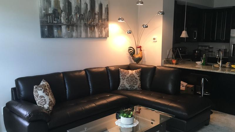 Surprising Westbury Top Grain Leather Sectional Brown Sams Club Machost Co Dining Chair Design Ideas Machostcouk