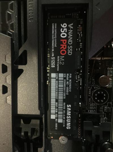 SSD 950 PRO NVMe 256GB Memory & Storage - MZ-V5P256BW