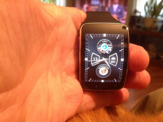 Gear S Black (Sprint) Wearables - SM-R750PZKASPR | Samsung US