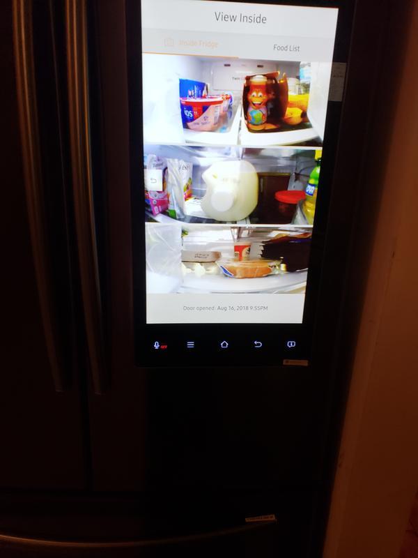 24 cu  ft  Capacity 3 -Door French Door Refrigerator with Family Hub