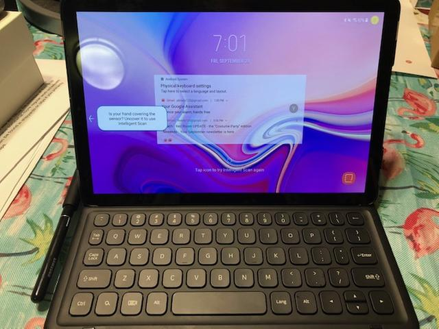 Galaxy Tab S4 Book Cover Keyboard Mobile Accessories - EJ