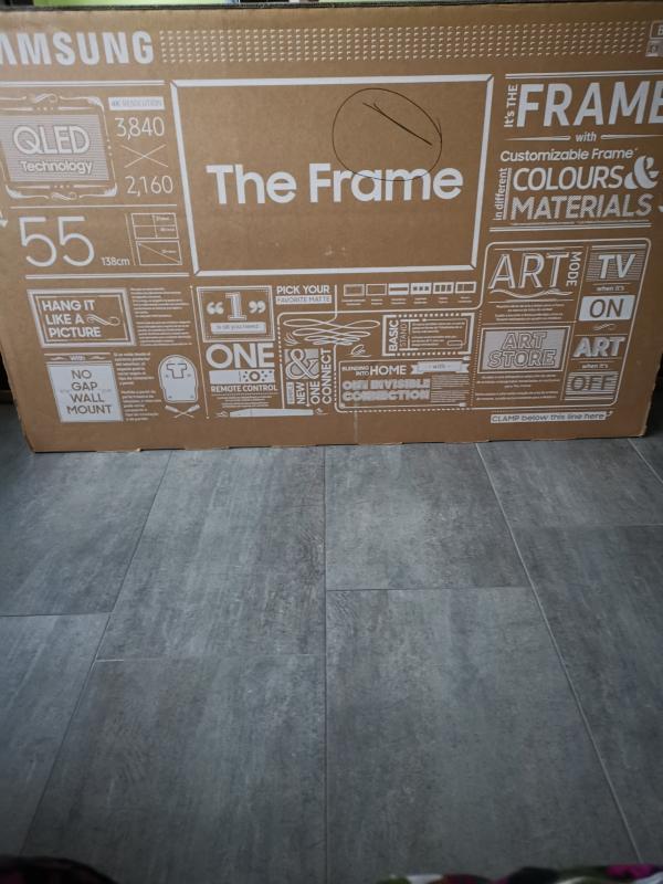 The Frame 55 2019 Qe55ls03rauxzg Samsung Deutschland