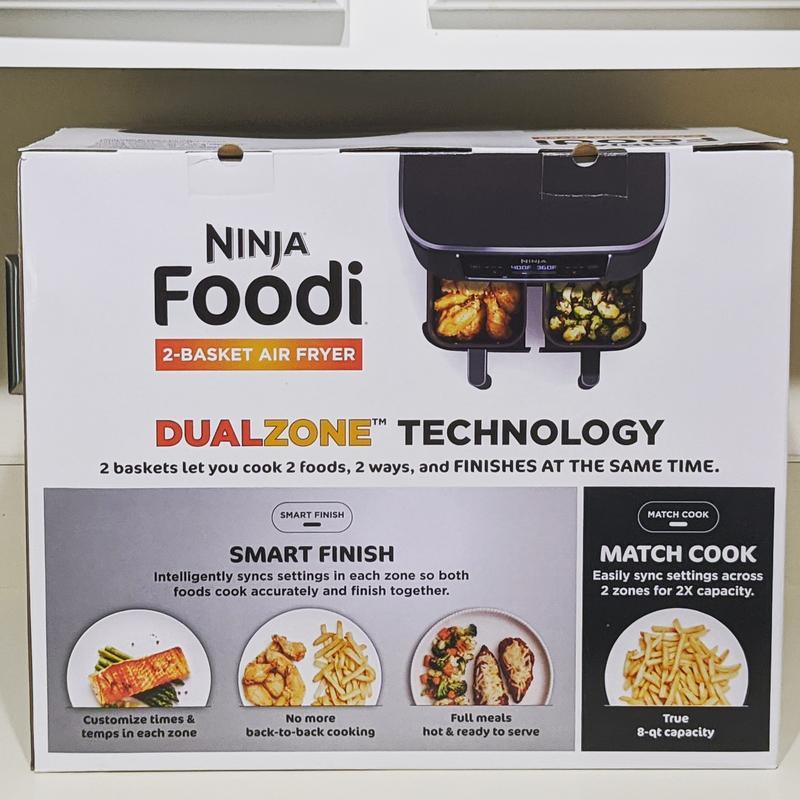 ninja foodi dual zone air fryer