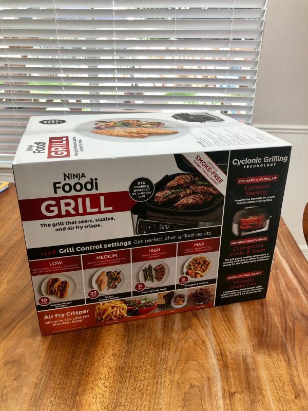 Bake Ninja Foodi 5-in-1 4-qt Roast Air Fryer Dehydrate Indoor Electric 10/'