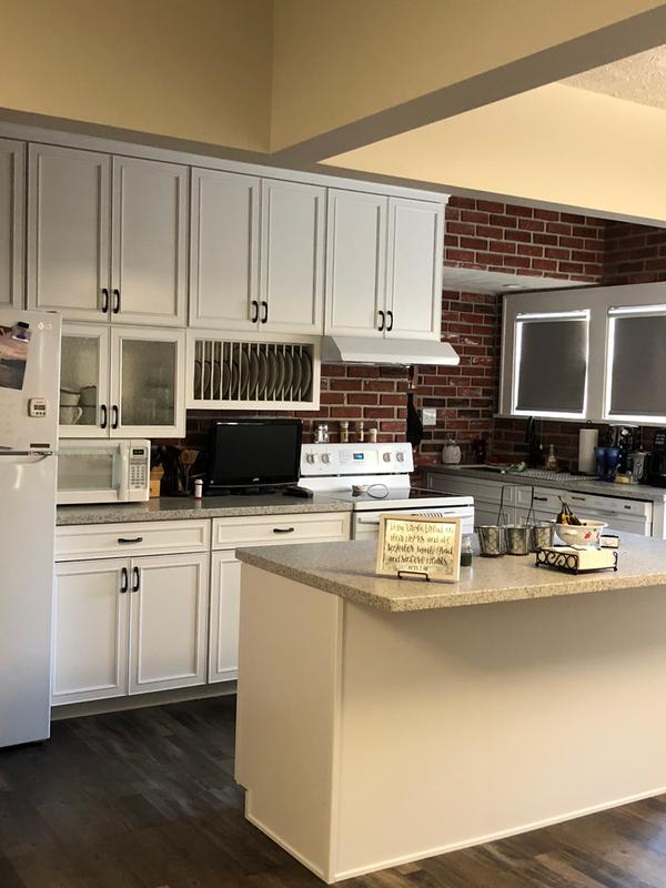 Charming Our New Shenandoah Cabinets Give A Spacious And Inviting Look To Our  Kitchen!