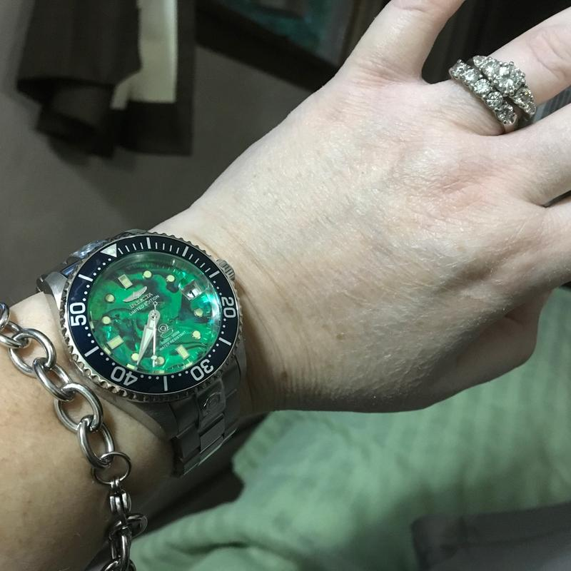 Invicta Watch Slot Diver 47mm 3 Bracelet Automatic Dive Grand Dial W Case 38mm Or Abalone gYfb7y6v