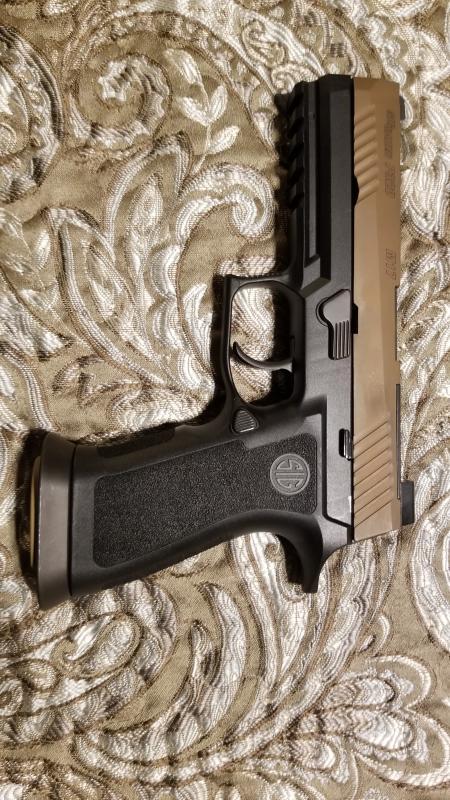 P320 X-Five Full Size Grip Module, 9mm,  40 S&