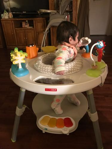 Explore & More Baby\'s View 3-Stage Activity Center | Skiphop.com