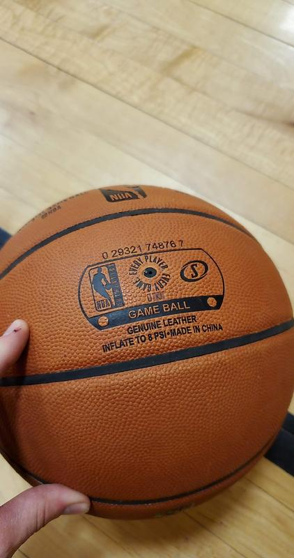 authentic nba basketball