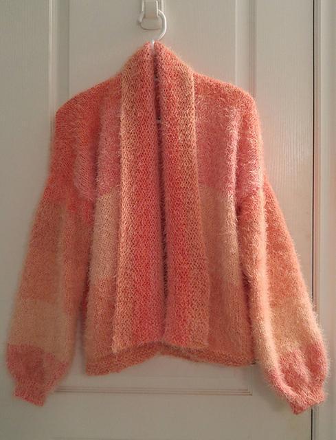 Caron Shawl Collar Knit Cardigan Pattern Yarnspirations