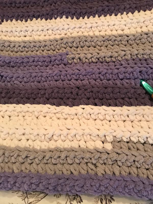 Bernat Blanket Stripes Yarn (300g/10 5 oz), Teal Deal