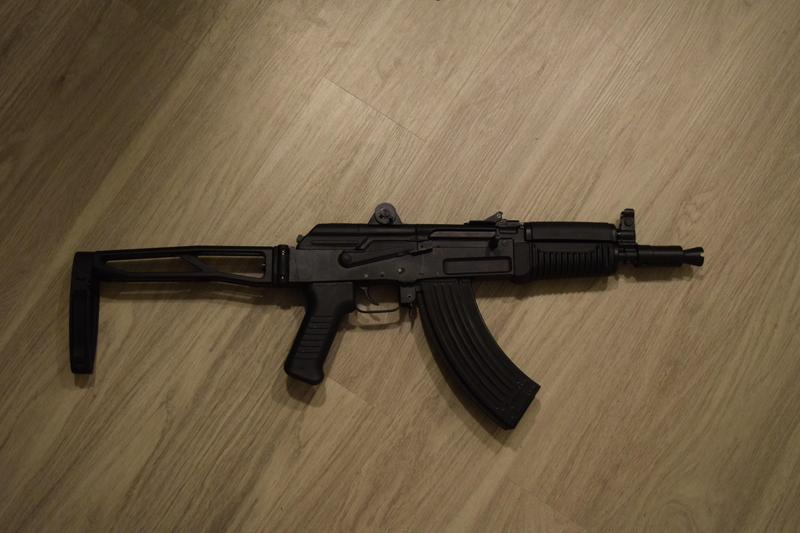Arsenal SAM7K AK, Semi-Automatic, 7 62x39mm, 10 5