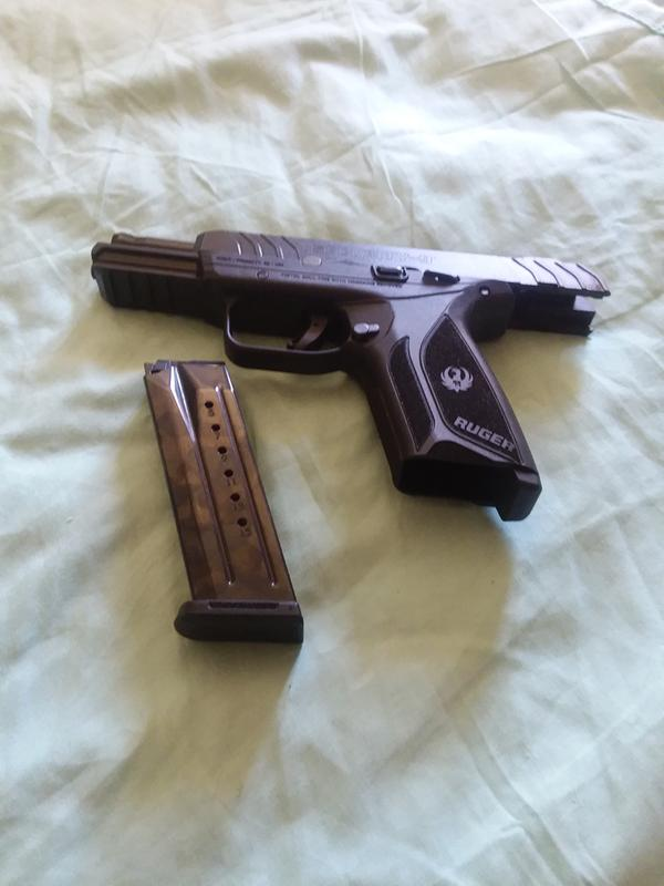 Ruger Security-9, Semi-Automatic, 9mm, 4