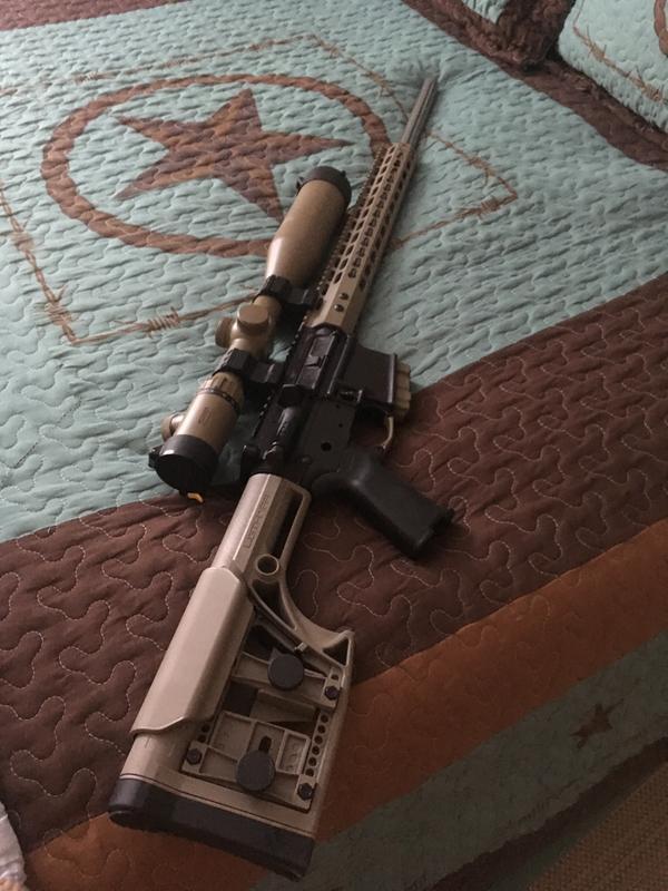 Anderson Predator AR-15, Semi-Automatic, 5 56 NATO/ 223 Remington, 24