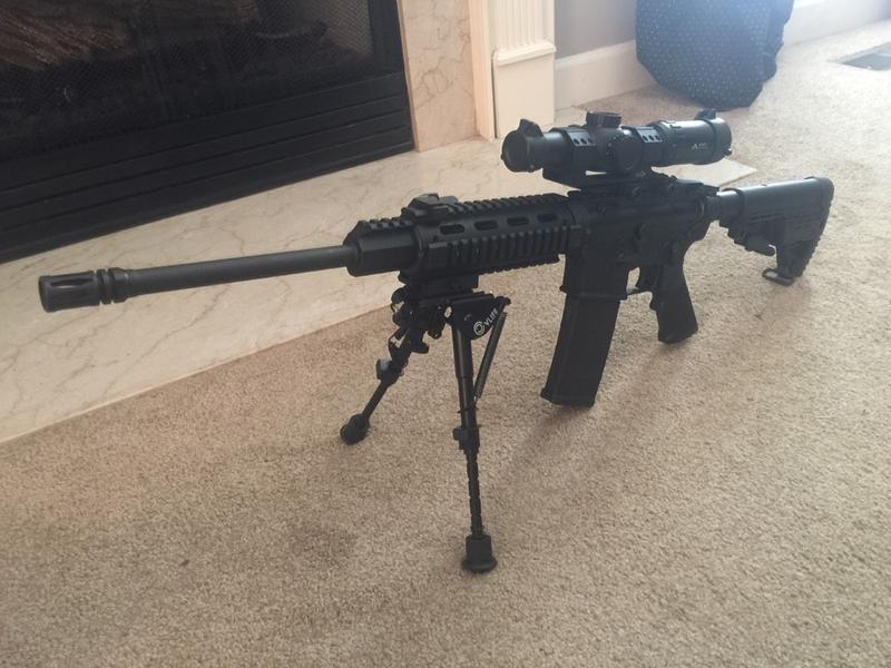 DPMS Oracle AR-15, Semi-Automatic, 5 56 NATO/ 223 Remington, 16