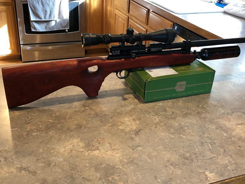 Umarex Gauntlet PCP Air Rifle,  25 Caliber, 28 5