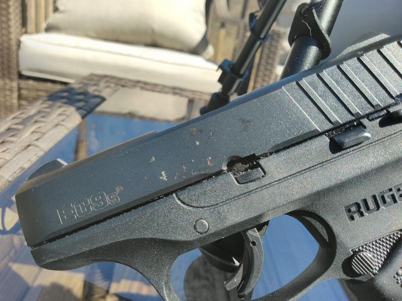 Ruger EC9s, Semi-Automatic, 9mm, 3 12