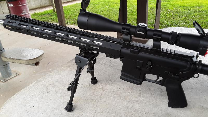 aim sports ar 10 free float keymod 13.5 handguard