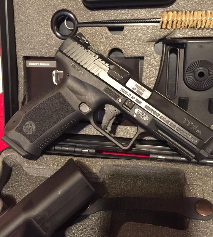 Century Arms Canik TP9SA, Semi-Automatic, 9mm, 4 5