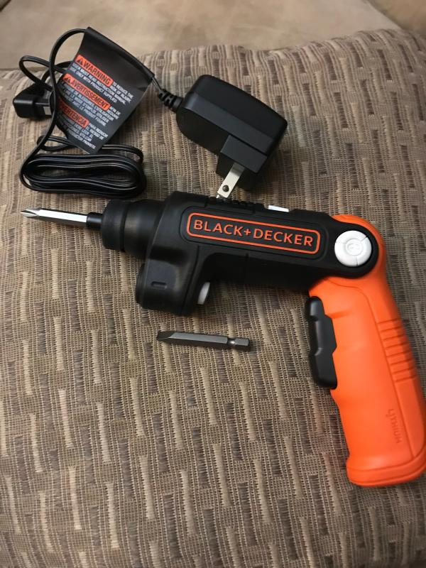4V MAX* Lithium Ion LightDriver Cordless Screwdriver