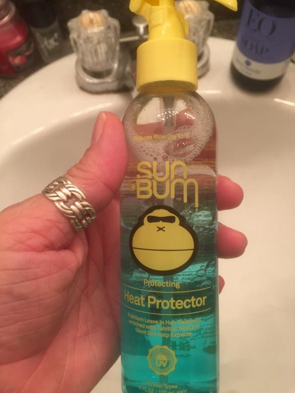Heat Protector, Protects Hair From Heat Damage | Sun Bum
