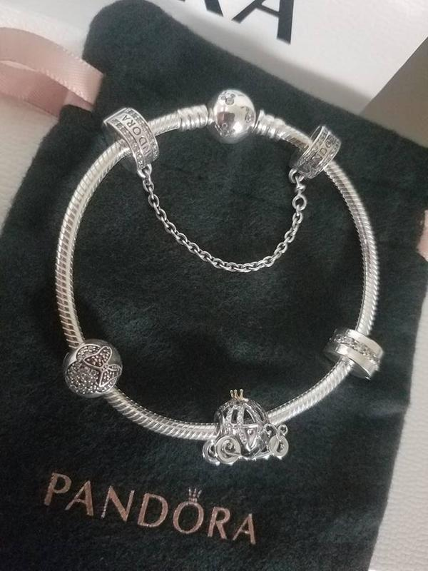 pandora disney charms cinderella carriage