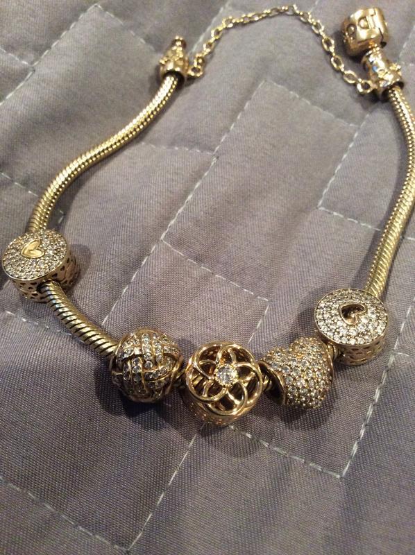 Pandora Moments Snake Chain Bracelet Gold Pandora Us