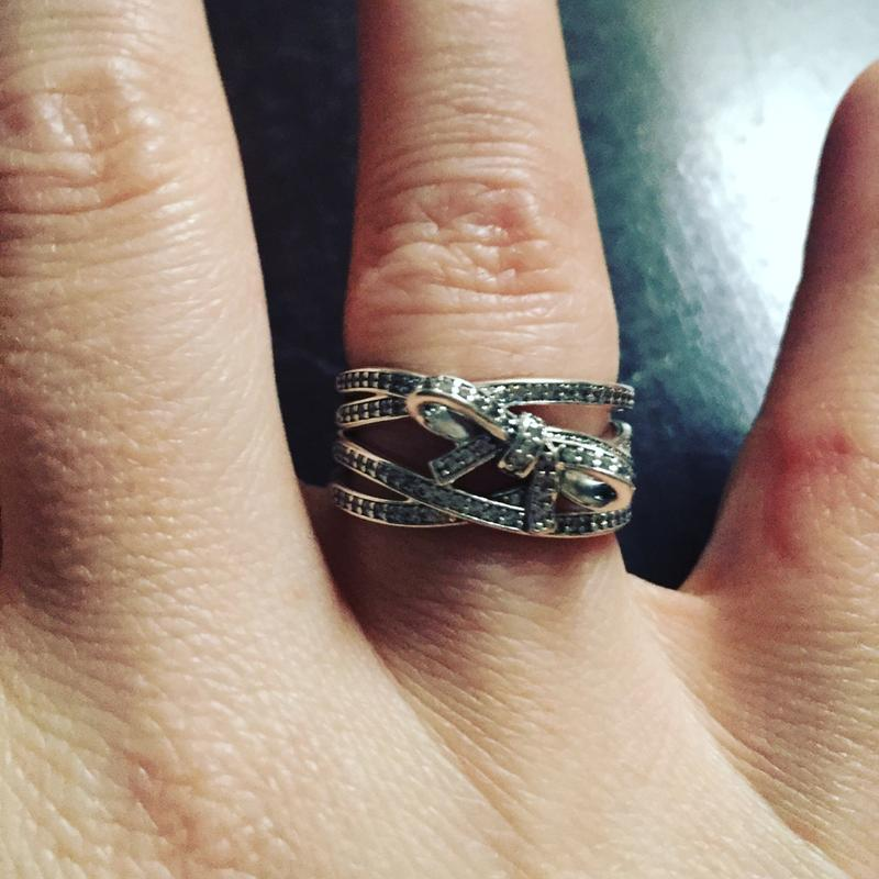 aa3db1c87 ... eBay Delicate Sentiments Ring, Clear CZ PANDORA Jewelry US ...